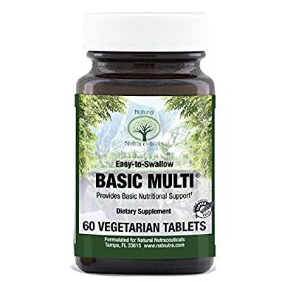 Vegetarian Multivitamin and Mineral for Women and Men, One a Day, Easy to Swallow, 60 Tablets
