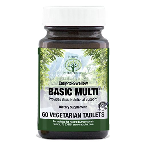 Natural Nutra Daily Multivitamin and Mineral, Vegetarian, One a Day, 60 Count