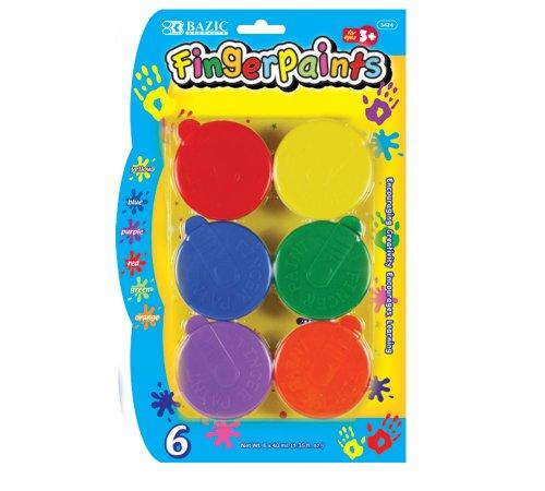 bazic-washable-finger-paint-six-colors-per-package