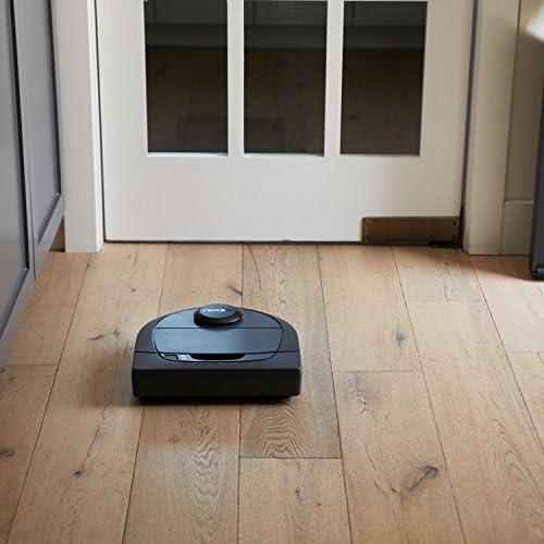 Neato Robotics D301 Connected - Compatible avec Alexa - Robot aspirateur avec station de charge, Wi-Fi & App