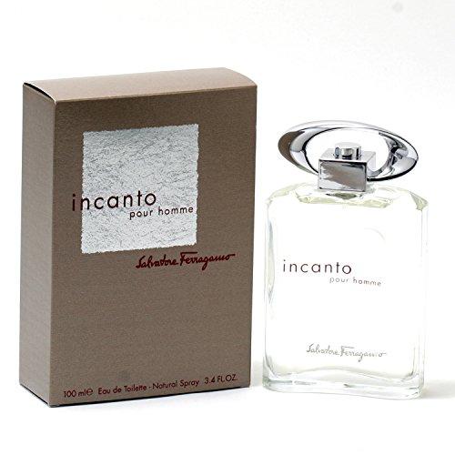 Salvatore Ferragamo Incanto Pour Homme 3.4 oz EDT Spray Mens (Ferragamo Pour Homme Edt)