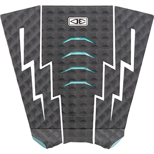 Ocean and Earth Bolt Charcoal Surfboard Traction Pad - 3 (Surf Bolt)