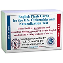 English Vocabulary flash cards for the US Citizenship, Naturalization test with all official USCIS assembled Sentences...