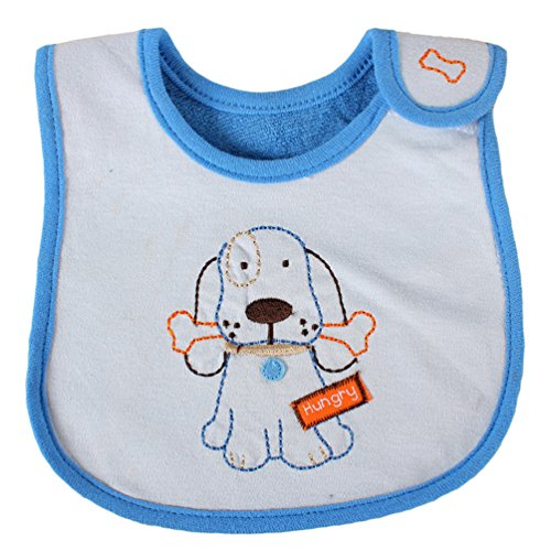 Dog Hungry Newborns Infant 0-3 Years Baby Bibs Infant Saliva Towels Newborn Wear Burp (Pull Over Police Adult Costumes)