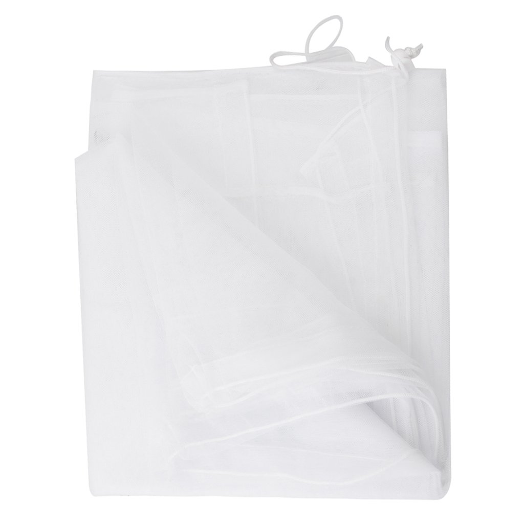 White Mosquito Net for Baby Double Carriage Stroller Pram Insect Netting