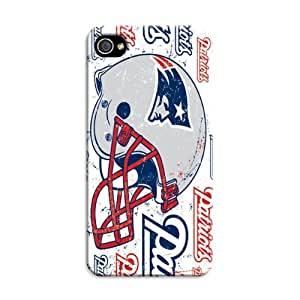 iphone covers Nfl- New England Patriots - Silhouette On Iphone 6 plus Case