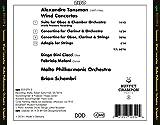 Tansman: Wind Concertos