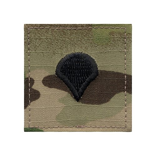 Authentic Military Rank Insignia US Made (Spec 4 - MultiCam)