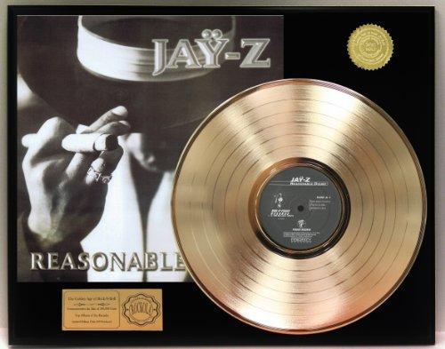 Jay Z Gold Clad LP Record LTD Edition Display