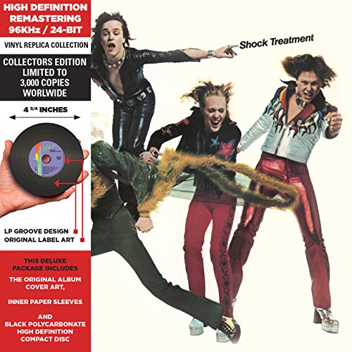 Price comparison product image Shock Treatment - Cardboard Sleeve - High-Definition CD Deluxe Vinyl Replica