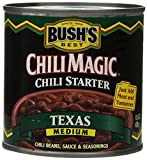 Bush's Best Chili Magic Texas Medium Chili Starter (Case of 12)
