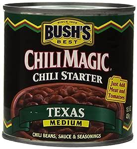 Amazon Com Bush S Best Chili Magic Texas Medium Chili