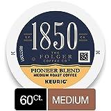 1850 Pioneer Blend, Medium Roast Coffee, K-Cup Pods for Keurig Brewers, 10 Count (Pack of 6)