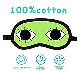 Sangkoo Fashion Eyes Sleep Mask, Cotton Material