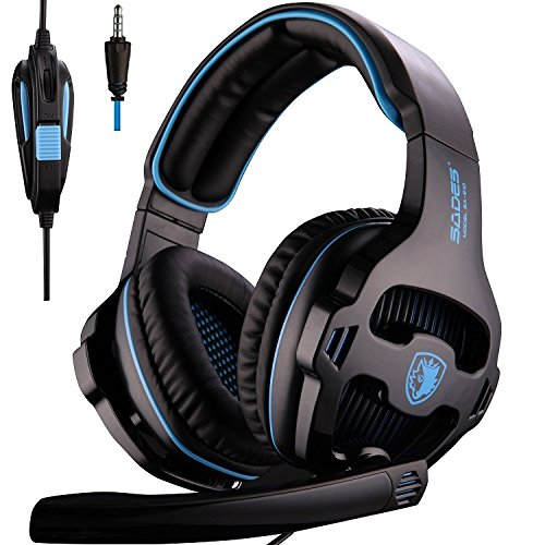 SADES Universal Gaming Headset with Mic (810S) by JAMSWALL
