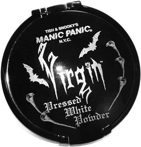 Manic Panic Virgin White Pressed Powder Gothic Vampire (White Face Makeup Powder)