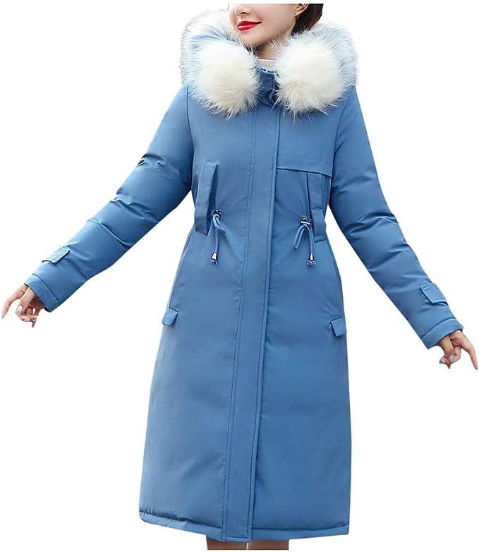LQQSTORE Warm Wintermantel Damen Mäntel, Oversize Down