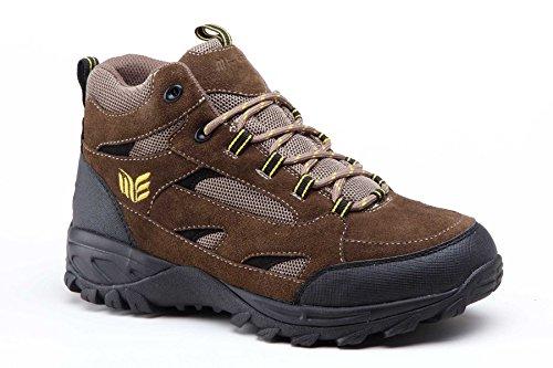 Mt Emey 9703-L Men's Outdoor Walking High Top Brown 13-XW(4E)