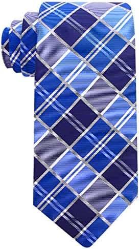 Scott Allan Mens Plaid Necktie