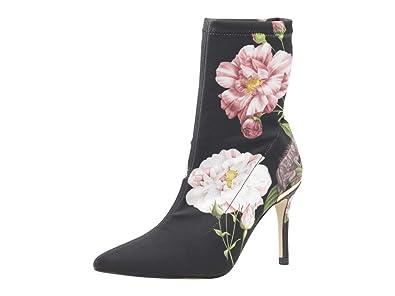 a7c926db7 Amazon.com  Ted Baker Women s Elzbet Black Iguazu Heeled Boots Shoes  Shoes