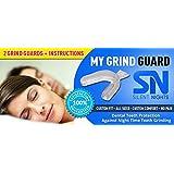 My #1 Grind Dental Guard – Prevents Teeth Grinding, Bruxism, Teeth Clenching 2/Pack
