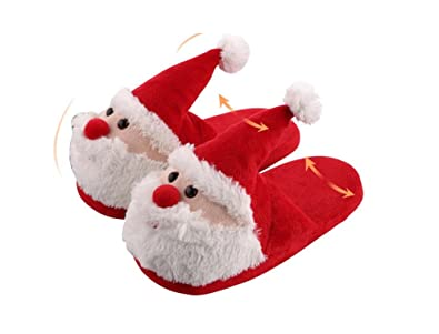 whenow childrenskidsadult 3d christmas novelty slipperswomens indoor warm slippers