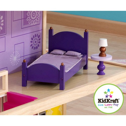 51lb1XYdNUL - KidKraft So Chic Dollhouse with Furniture