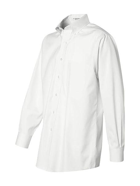Van Heusen de Hombre 100% algodón no Hierro botón Abajo Camisa - Colores   Amazon.es  Ropa y accesorios 06a26a947d8