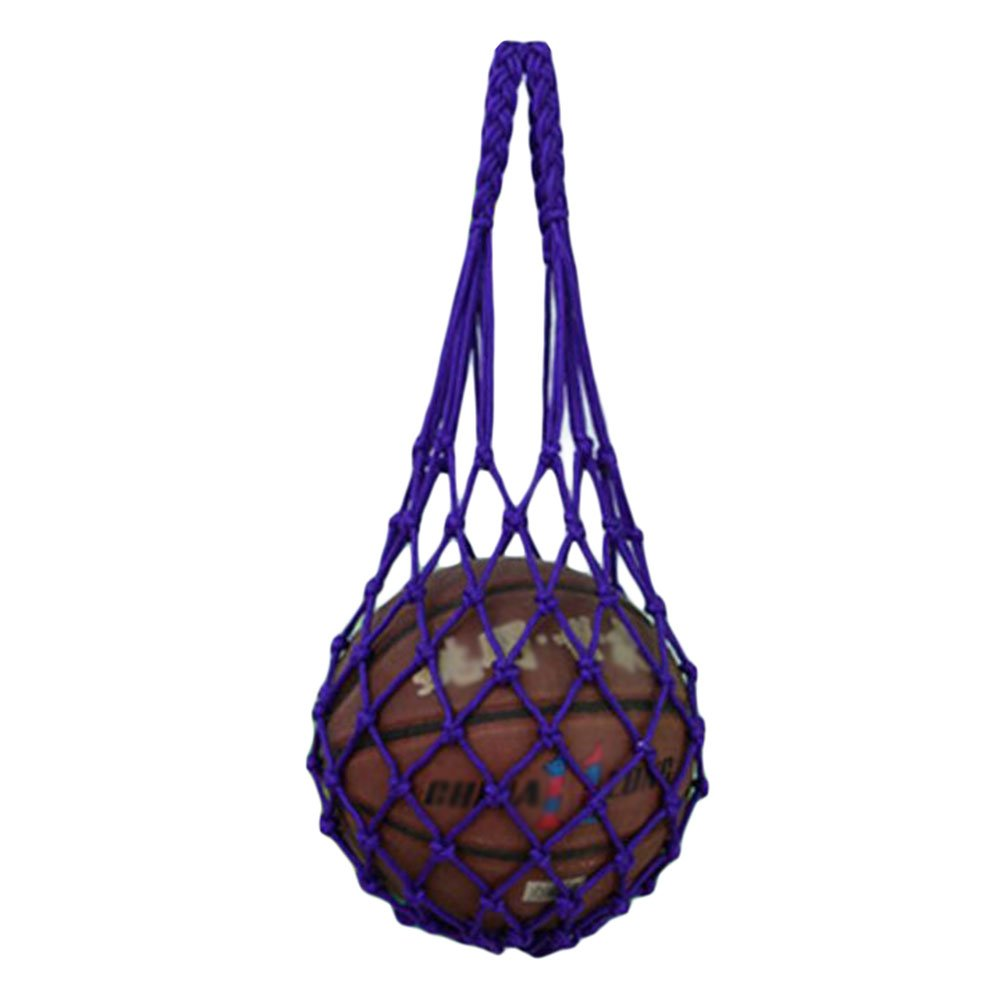 George Jimmy Basketball Soccer Pocket Volleyball Hand-carry Training Bag 70 CM Purple