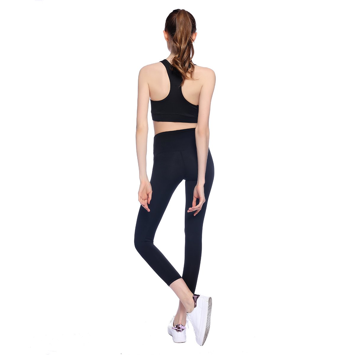 Amazon.com: bonjanvye correr brasier y Activewear pantalones ...