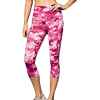 Berimaterry Mujer Casual Impreso Sporting Fitness Leggings Yoga