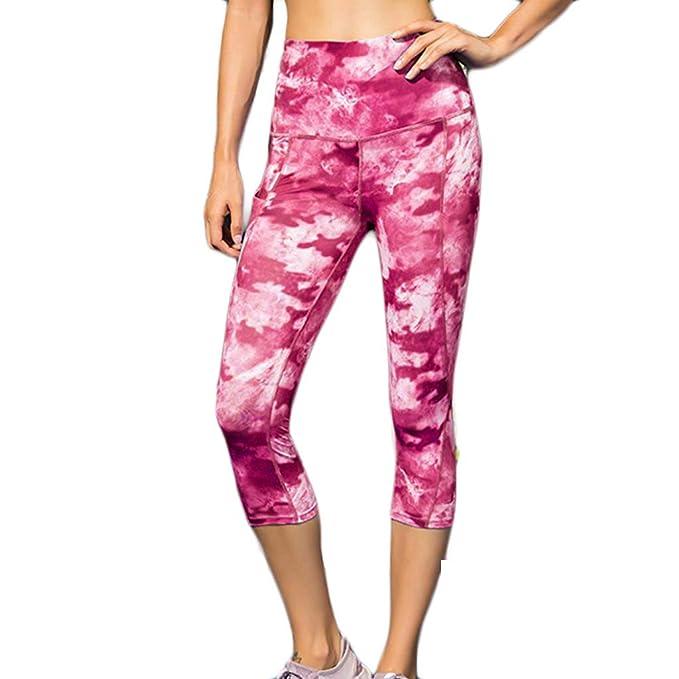 Nuevo! Mallas Pantalones Deportivos Leggings Mujer Yoga De ...