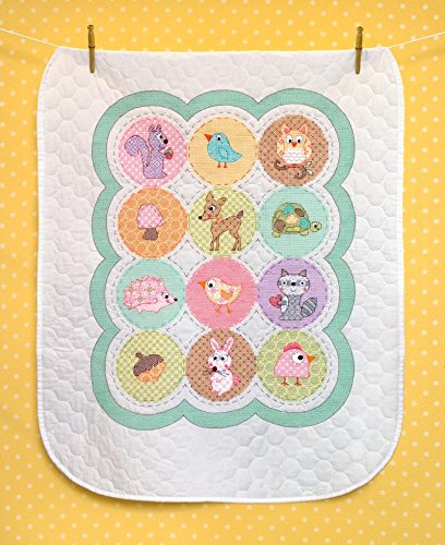 (Dimensions Baby Hugs Stamped Cross Stitch Kit Happi Woodland Quilt)