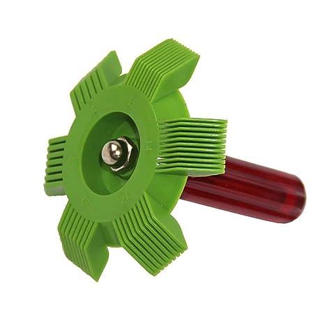 lzndeal Condensador automotriz del evaporador del radiador del Aire/Acondicionado del Limpiador de la enderezadora