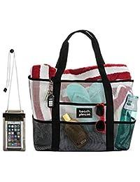Heavy Duty Mesh Bag – Beach Bag 272dfcc78e999