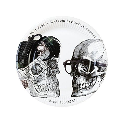 Talking Tables Skeleton Crew Plates 9