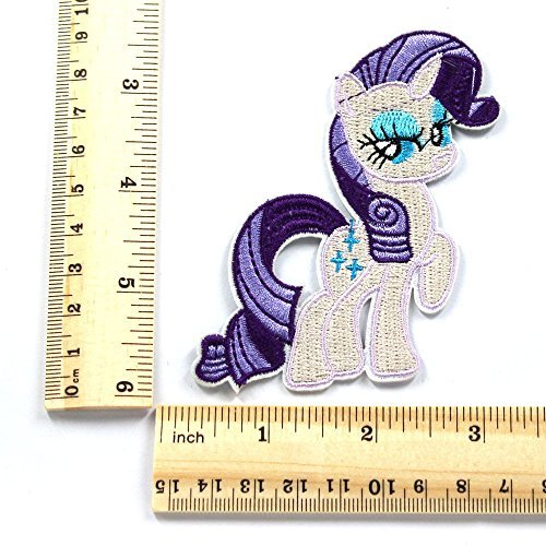 My Little Pony Horse Embroidered Iron/sew on Patch Badge Cloth Applique T- - Applique Horse Embroidered Iron