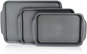 Frigidaire 11FFBAKE02 ReadyCook Bakeware, 3 piece, Carbon Steel, 3 Pieces