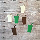 Coffee Confetti, Coffee Decorations, Coffee Theme, Coffee Party Supplies, Cup Cut Out