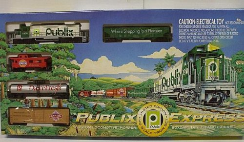 - IHC HO Scale Publix Express Complete Train Set (1995)
