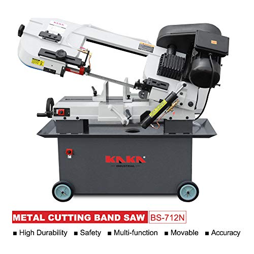 Capacity Metal - KAKA Industrial Metal Cutting Horizontal Band Saw 7