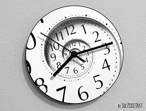 Time Travel Hole Wall Clock