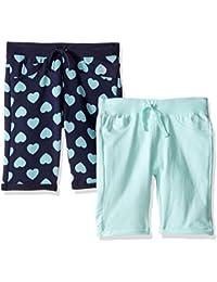 Limited Too Big Girls' 2 Pack Knit Bermuda Shorts
