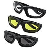 3-Pair-Motorcycle-Riding-Glasses-Smoke-Clear-Yellow