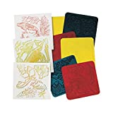 Roylco R-5842BN Rubbing Plates Fossils, Grade Kindergarten to 1, 1.5'' Height, 8'' Wide, 7.9'' Length (Pack of 18)