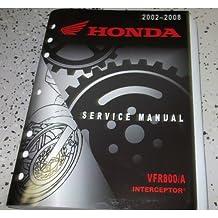 04 2005 2006 2007 2008 Honda VFR800/A Interceptor Service Shop Repair Manual OEM