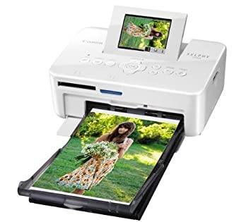 CANON Impresora de fotos Selphy CP810 + DCC-CP2 - gris ...