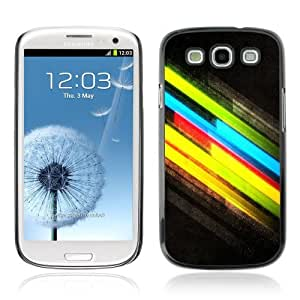 Designer Depo Hard Protection Case for Samsung Galaxy S3 / Cool Colors