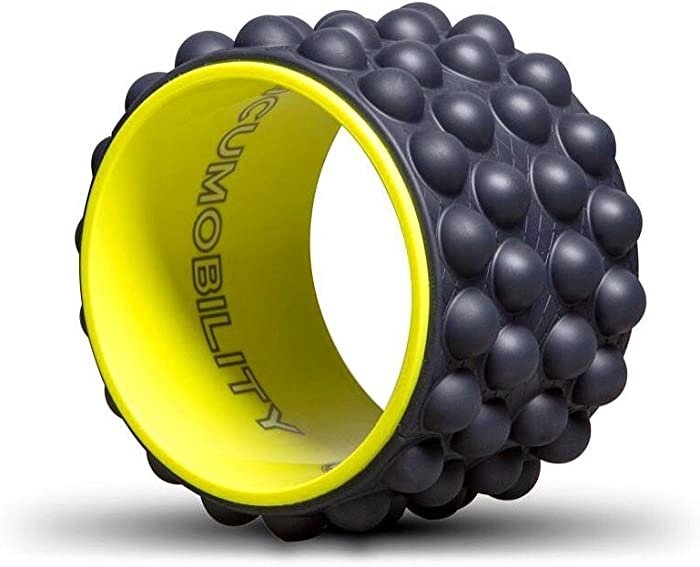 The Ultimate Back Roller : Acumobility, myofascial Release, Trigger Point, Yoga Wheel, Foam Roller, Back Pain, Yoga Wheel for Back Pain, Back Massager, deep Tissue, Massage, Exercise, Mobility