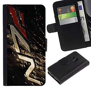 // PHONE CASE GIFT // Moda Estuche Funda de Cuero Billetera Tarjeta de crédito dinero bolsa Cubierta de proteccion Caso Samsung Galaxy S3 MINI 8190 / N7 Mass Eff3Ct /